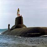 Typhoon class ISBM class submarine.