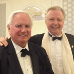 John with film actor ('Enemy of the State') John Voight.
