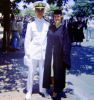 John and his future wife, Janine, on graduation day at USC.<br>(Photo: Beth Govan)