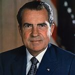 Richard M Nixon - 37th President - 1969 to 1974