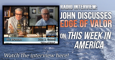 Radio Interview: John discusses Edge of Valor on This Week in America with Ric Bratton