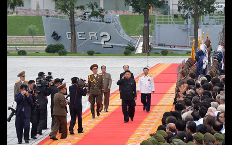 2013 Official visit by Kim Jong Un