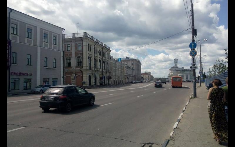 Downtown Petropavlovsk