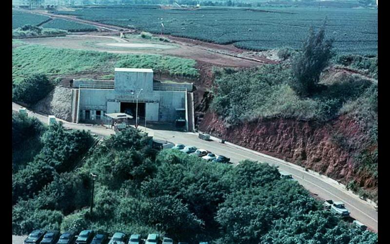 Kunia Tunnel Entrance – Fleet Operations Center -- Kunia Hawaii -- Regional SIGINT Operations Center (KSOCK)
