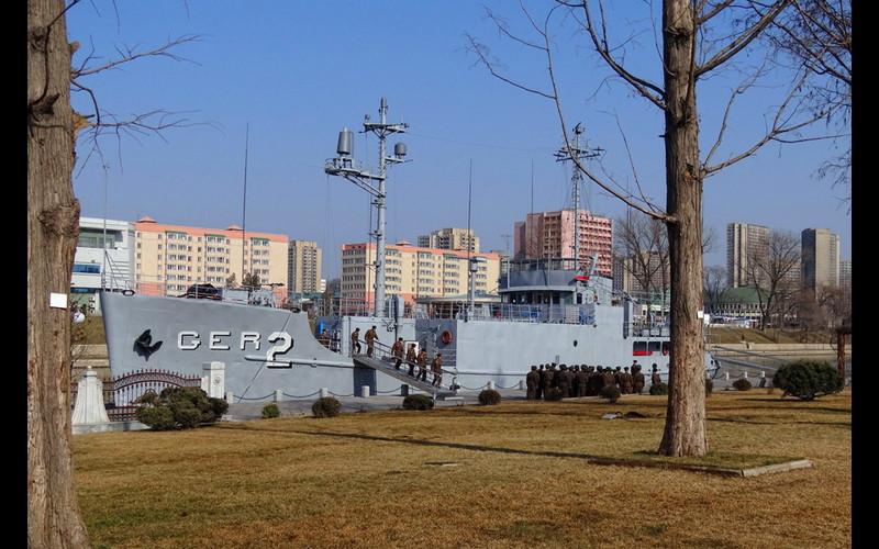 USS PUEBLO Today in Pyongyang North Korea