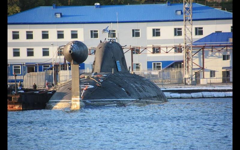 Rybachiy submarine base