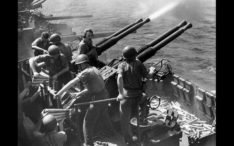 Kamakaze 40 mm gun mount