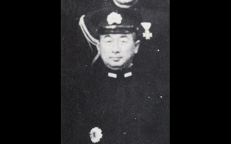 Vice Admiral Shoji Nishimura, commander southern force van, battleship IJN Yamashiro, Borneo