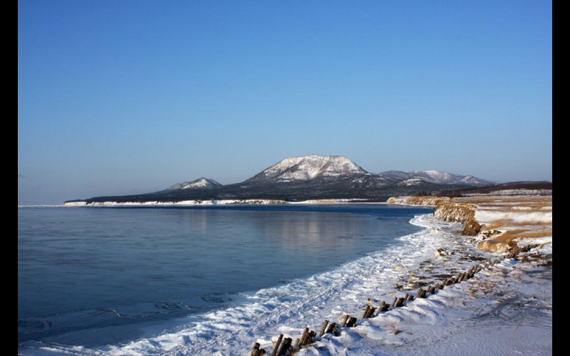 Toro, Karafuto Is. - Later Shakhtyorsk, Sakhalin Is. in Wintertime