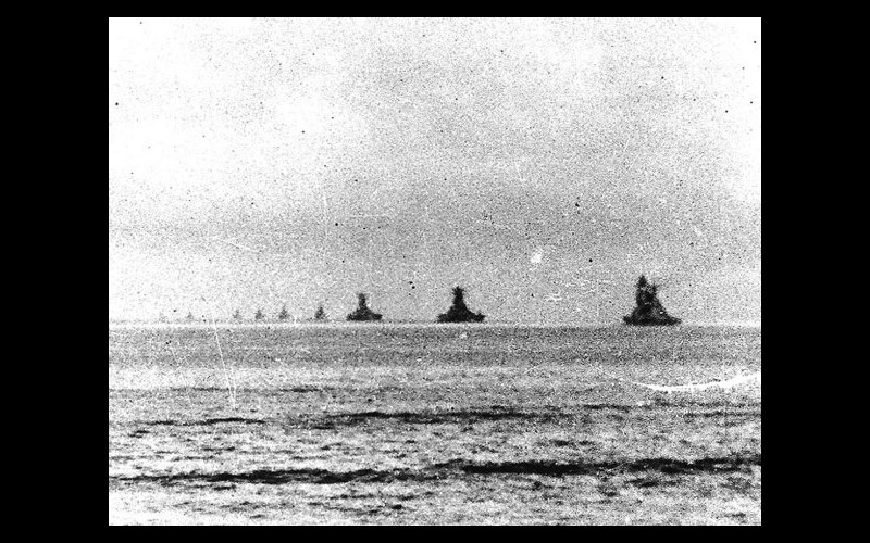 Forces at sea - Imperial Japanese Navy, Kurita's ships enroute Leyte