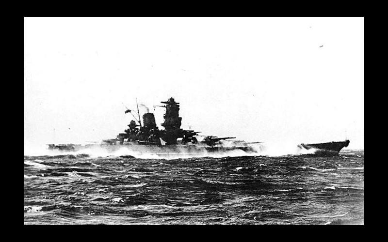 IJN superbattleship Yamato, Ugaki's flagship. Trials September 1941