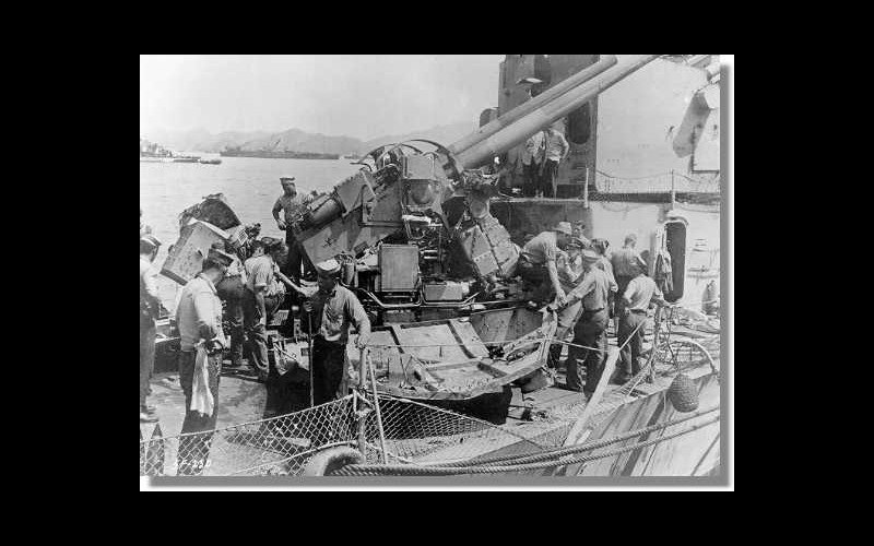 Kerama Retto USS Douglas H Fox