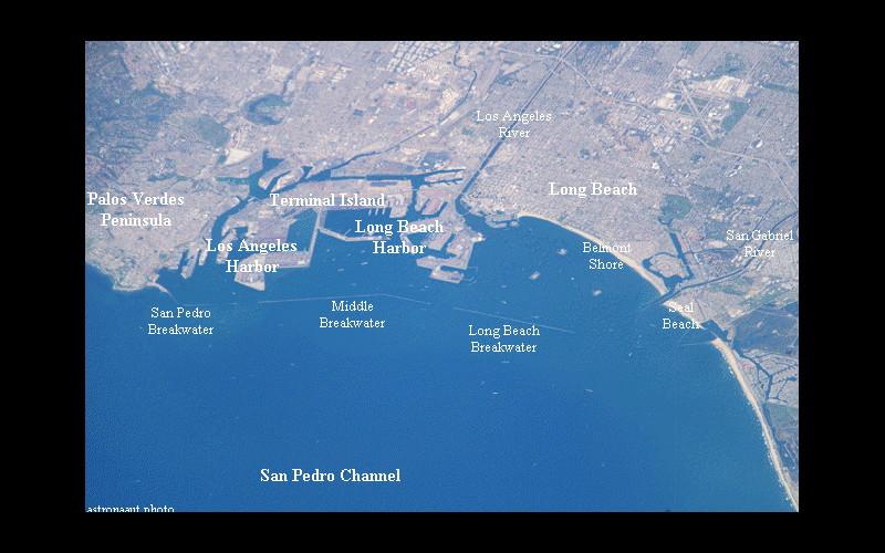 Brad - Long Beach Harbor.