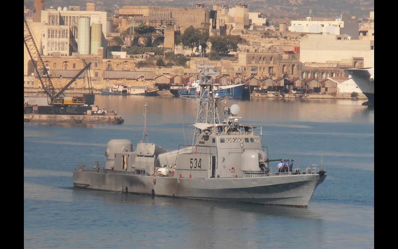 Anton - French La Combattante Class (WAHEED) - Libyan Navy.