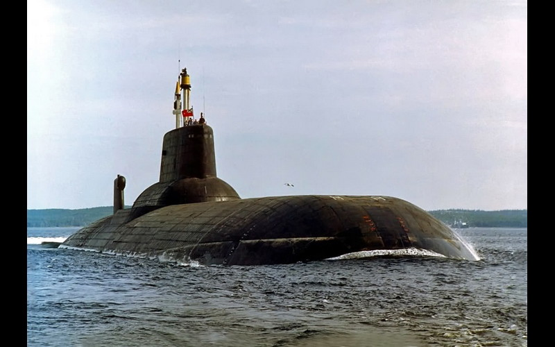 Soviet Navy - Typhoon class ICBM submarine