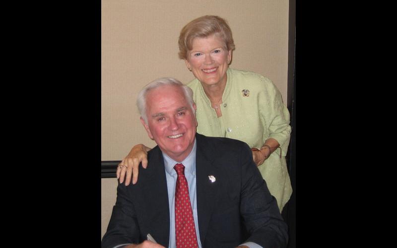 John with wife, Janine. (Photo: Sandy Geiler)