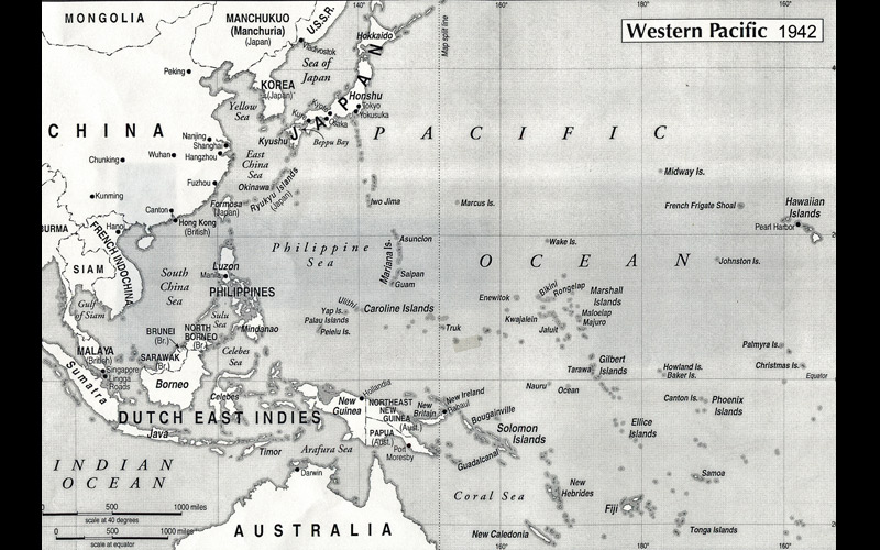 Western-Pacific----1942
