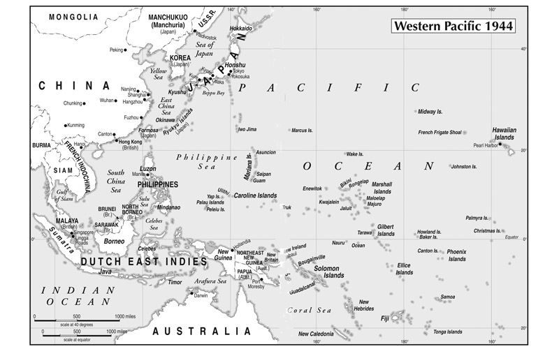 Western-Pacific----1944