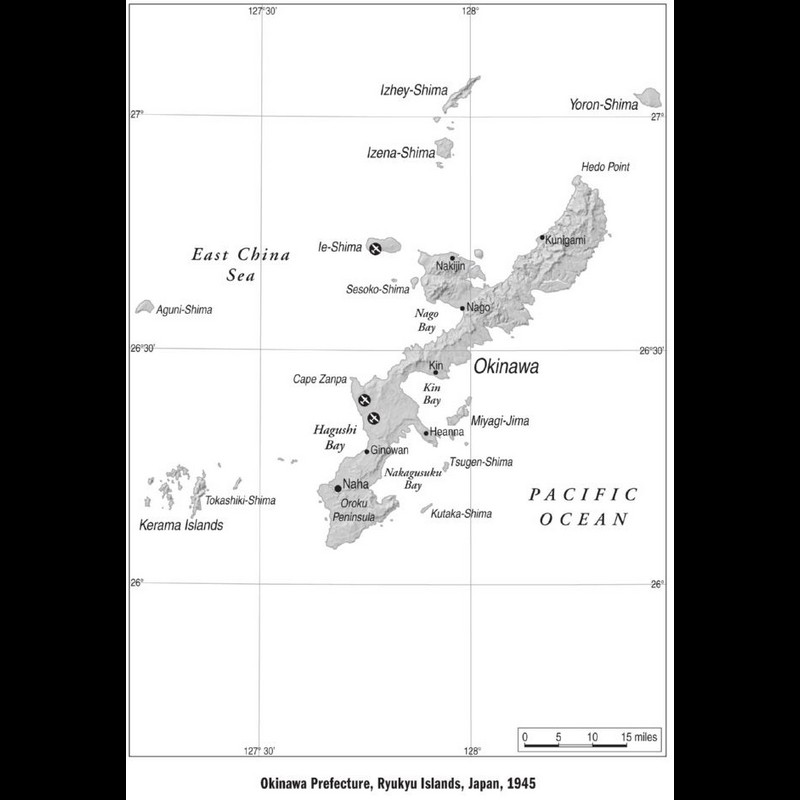 Okinawa Prefecture, Ryukyu Islands, Japan, 1945