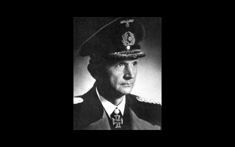 Admiral Karl Doenitz, Germany's Chief Flag Officer of U-boats with the title of Befehshaber der U-boote (BdU)