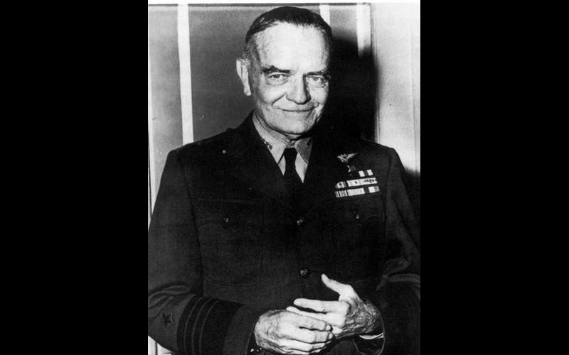 William F. Halsey, Vice Admiral, (later Fleet Admiral) USN