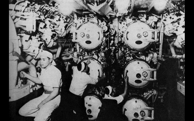 Torpedo Room, Japanese submarine
